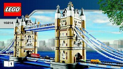 Lego 10214 London Tower Bridge (2010) - New And Sealed • 490£
