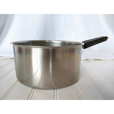 $ CDN31.25 • Buy Revere Ware 3 Qt Stainless Steel Copper Core Saucepan No Lid SS