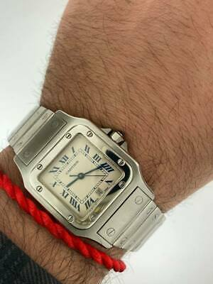 $3500 • Buy Cartier Galbe Large Quartz Date Stainless Steel #1564