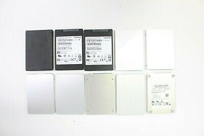 $ CDN235.82 • Buy Lot 10 128gb SSD Solid State Laptop Hard Drives SATA 2.5  Mixed Brands Tested