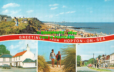 R534211 Greetings From Hopton On Sea. D. Constance. Multi View. 1968 • 7.99£
