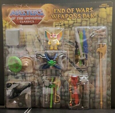$40 • Buy Masters Of The Universe End Of Wars Weapons Pak