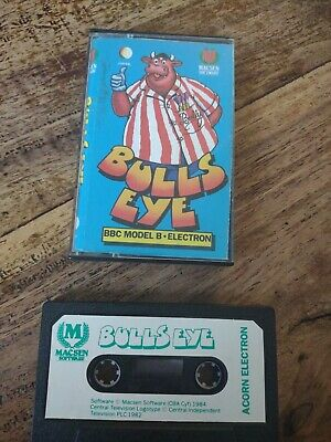 £10 • Buy Acorn Electron Game Bullseye By Macsen Software Also BBC Micro