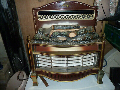 £100 • Buy Vintage Gas Fire With Elecrtic Coal Effect. In A Good Used Condition