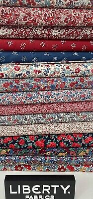 £3.75 • Buy Liberty's Flower Show - Winter - Lasenby Quilting Cotton  Fat Quarters