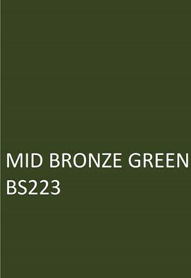 £16.45 • Buy MID BRONZE GREEN BS223 Agricultural Machinery Equipment Enamel Gloss Paint