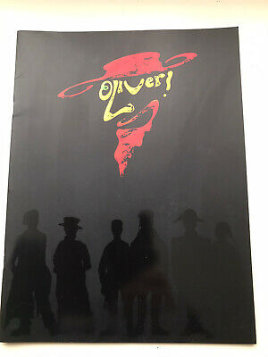 £8.95 • Buy OLIVER The Musical LARGE Programme / Brochure ROBERT LINDSEY SONIA SWABY