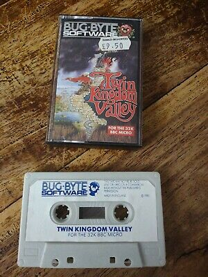 £5.50 • Buy Bbc Micro Game Twin Kingdom Valley By Bug Byte
