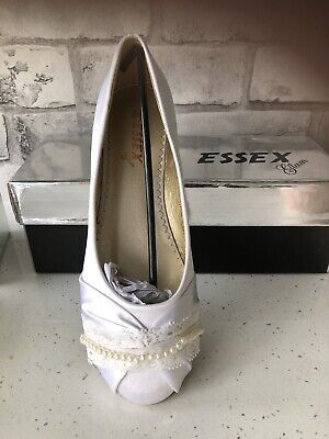 Wedding Shoes Size 6 New In Box Essex Glam • 12.99£