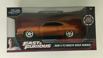Fast & Furious Dom's Plymouth Road Runner Die-Cast 1:32 Model Jada Toys | NEW  • 8.43£