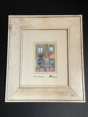 Martin Roberts 8x10 In. Tuscan Series  Four Windows' By Pier 1 Imports CC500 ( • 25.03£
