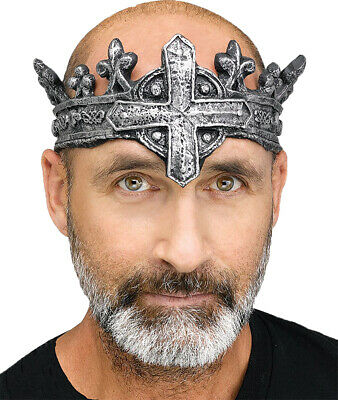 £8.58 • Buy Medieval King Gothic  Renaissance Crown Costume Accessory