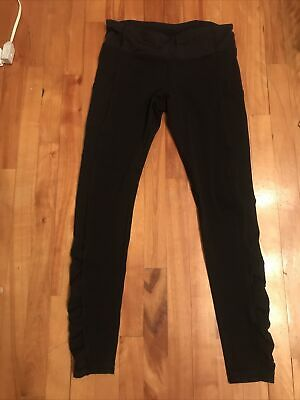 $ CDN54.99 • Buy Lululemon Run Leggings With Side Pockets  Black  Size 6