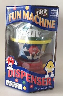 NIB M & M's Fun Machine Dispenser Candy Chocolate Official Collectible No Candy • 21.27£