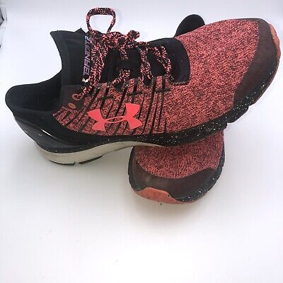$ CDN36.89 • Buy Under Armour Womens Charged Bandit 2 1273961-806 Black Red Running Shoes Size 10