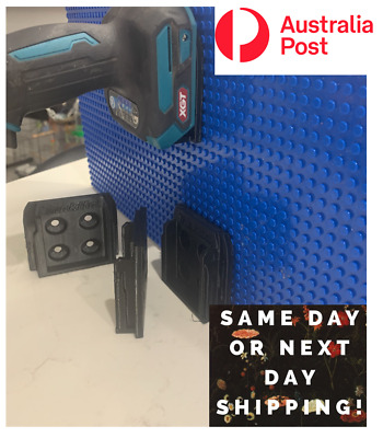 AU18.80 • Buy 4 X Makita 40v XGT Tool Holders Mounts Wall And Ceiling. HIGH STR/TEMPERATURE