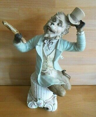 £295 • Buy Large Antique German Bisque Figure Of A Monkey Dressed As A Gentleman