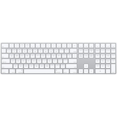 $ CDN162.90 • Buy Apple Magic Keyboard With Numeric Keypad Wireless W/ Box & Cable Silver White