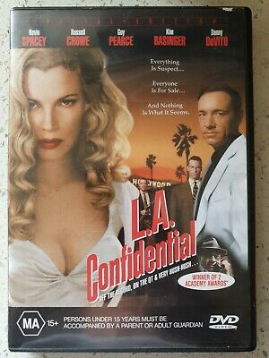 AU1.49 • Buy L.A. Confidential (Kevin Spacey, Russel Crowe & Guy Pearce) DVD  Danny DeVito