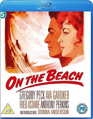 ON THE BEACH  Ava Gardner Gregory Peck Fred Astaire Anthony Perkins BLU RAY  NEW • 12.99£