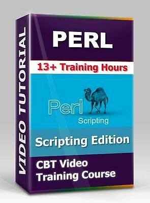 £4.34 • Buy Perl Scripting Edition - CBT Video Training Course - 13+ Hours Of Video Training