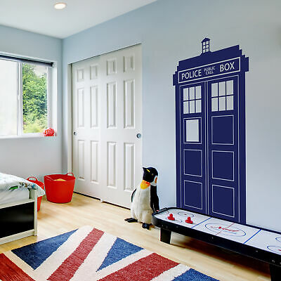 £34.99 • Buy DR WHO TARDIS Removable Vinyl Wall Decal Stickers Home Decor Art (L)