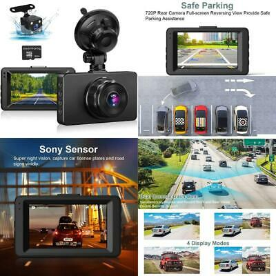 AU76.85 • Buy Dash Cam Front And Rear, Dual Dash Cam 1080P Full Hd Dash Camera For Cars 3  Ips