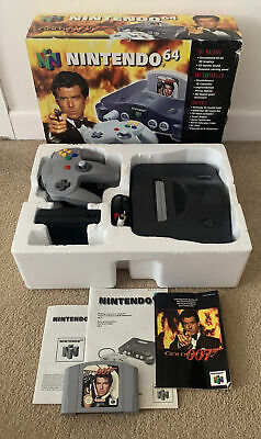 AU266.97 • Buy Nintendo 64 N64 Goldeneye Console Boxed Complete - Good Condition - Working