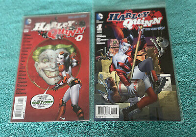 $ CDN12.79 • Buy DC Comics Harley Quinn #0 Amanda Conner Cover 2nd Print & #1 5th Print New 52!