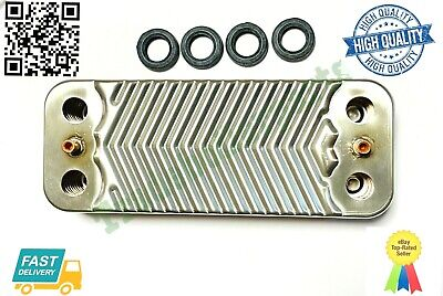 £48.45 • Buy Viessmann 7828746 Plate Heat Exchanger 20 Plates DHW Gaskets New High Quality