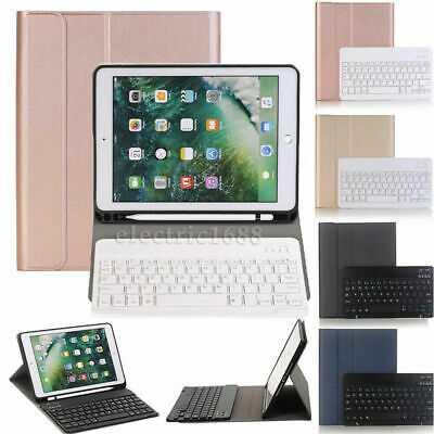 AU48.29 • Buy Cover Case For IPad Pro 10.5  2017 Fold Stand W/ Wireless Keyboard Pencil Holder