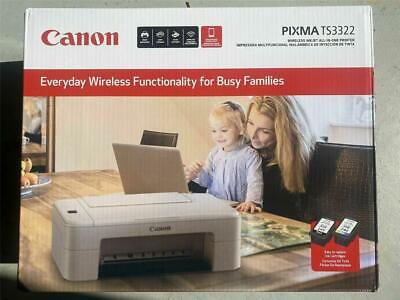 View Details NEW!! Canon - PIXMA TS3322 Wireless All-In-One Printer Ink Not Included Few Left • 49.99$