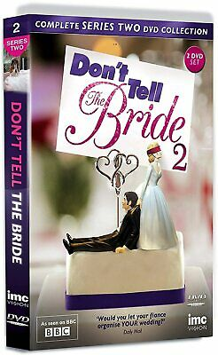 DON'T TELL THE BRIDE COMPLETE SERIES 2 DVD 2nd Second Season Two UK Release R2 • 19.99£