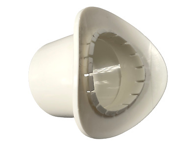 White 110mm To 55mm Click In Boss Adapter Fitting - Waste Pipe To Soil Pipe • 7.85£