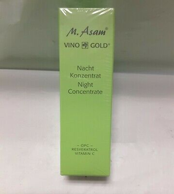 $15 • Buy M. Asam Vino Gold Night Concentrate,  1.01 Fl Oz