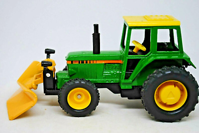 £14.99 • Buy BRITAINS Action Drive JOHN DEERE Type Tractor W/ Front Mounted SNOW-PLOUGH VGC