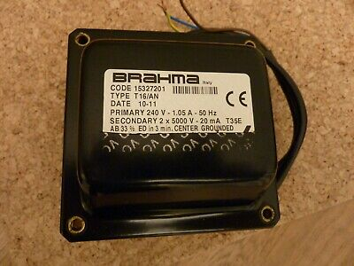 BRAHMA Electric Ignition Transformer Type T16/AN • 140£