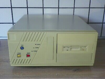 AU312.36 • Buy Vintage Rare XT/ 286/ 386/ 486/ Pentium PC AT Baby Desktop FLIP-TOP OPEN-UP Case