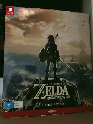 AU300 • Buy The Legend Of Zelda: Breath Of The Wild Limited Edition (Nintendo Switch, 2017)