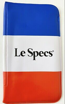 AU15 • Buy Le Specs Original Padded Glasses Case, Sunglasses Case Only - Vintage No Tears