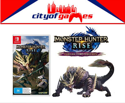 AU149.95 • Buy Monster Hunter Rise Collector's Edition Nintendo Switch Brand New Pre Order