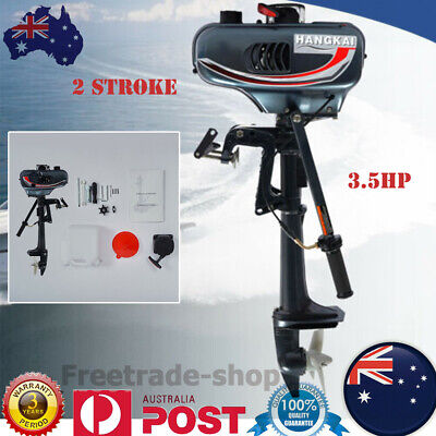 AU327 • Buy 2 Stroke 3.5HP Outboard Motor CDI System Fishing Boat Engine Water Cooling