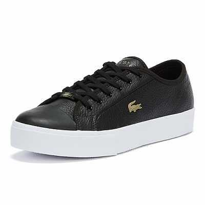 Lacoste Ziane Plus Grand 721 1 Womens Black White Trainers Sneakers Sports Shoes • 72£