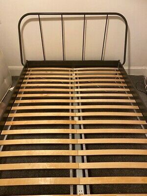 Standard King Sized Bed Frame - Nearly New • 50£