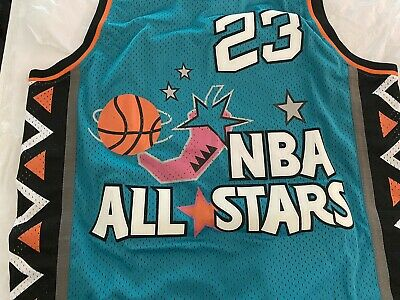 AU4500 • Buy Michael Jordan Hand Signed ALL STAR Basketball Jersey