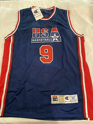 AU2800 • Buy Michael Jordan Hand Signed Olympic Basketball Jersey - Global Authentication