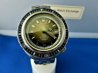 $ CDN753.93 • Buy VINTAGE Diver's EAGLE STAR SQUALE 100 Atmos 2001 Stainless Automatic MEN'S WATCH