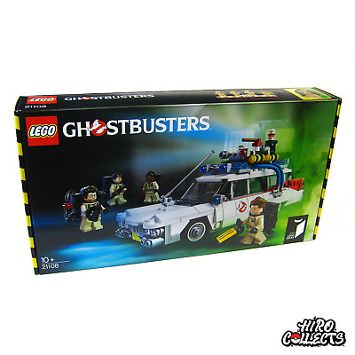 LEGO Ideas Ghostbusters Ecto-1 (21108) Brand New Sealed Box (Retired Set) • 99.95£