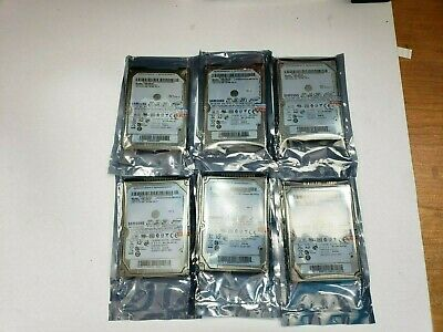 $ CDN135.51 • Buy LOT OF 6 SAMSUNG 160GB Laptop IDE Hard Drive HM160HC TESTED FAST SHIP OUT