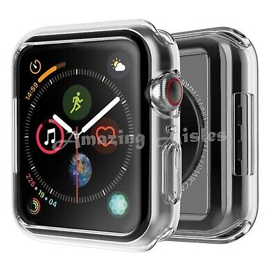 $ CDN4.21 • Buy IWatch Screen Protector Case Cover Apple Watch Series 4/5/6 Fits All Models